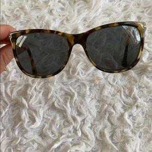 COACH leopard print glasses frame